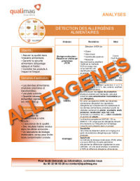 Document Allergènes